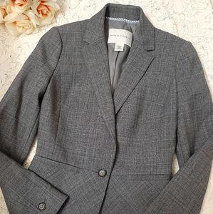 BANANA REPUBLIC Grey Blazer